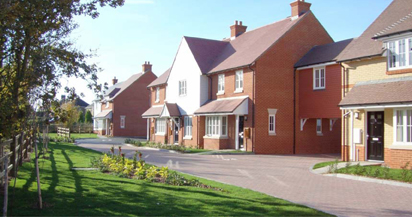 Housing at Cherryfields, Lynsted.