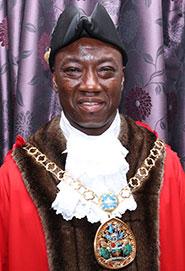 Cllr Samuel Koffie-Williams Mayor of Swale