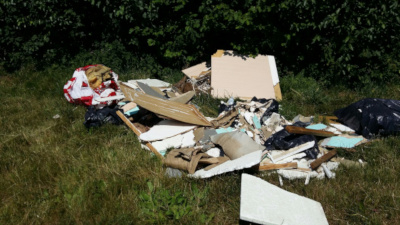 Fly tipping in Norton