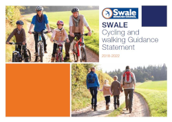 Swale's cycling and walking guidance statement.