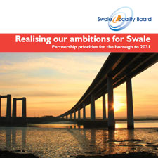 Front cover - Realising our ambitions for Swale