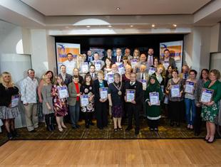 Image of the 2014 Swale Volunteers Award winners