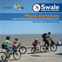Front cover image from document Sport and Physical Activity Framework for Swale