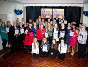 Image of the 2016 Swale Volunteer Award winners