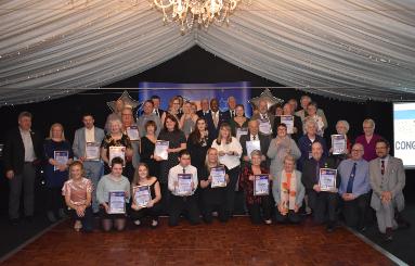 Image of the 2018 Swale Volunteer Award winners