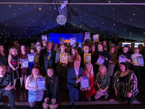2020 Volunteer Swale Award winners