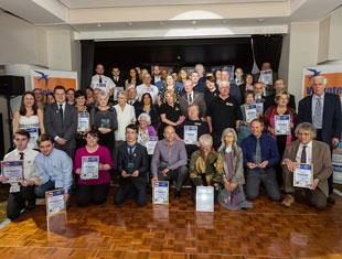 Image of the 2015 Swale Volunteer Award winners